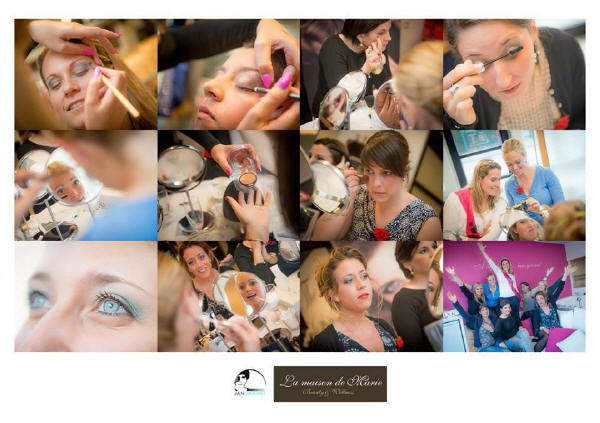 make-up workshop Brugge la maison de marie